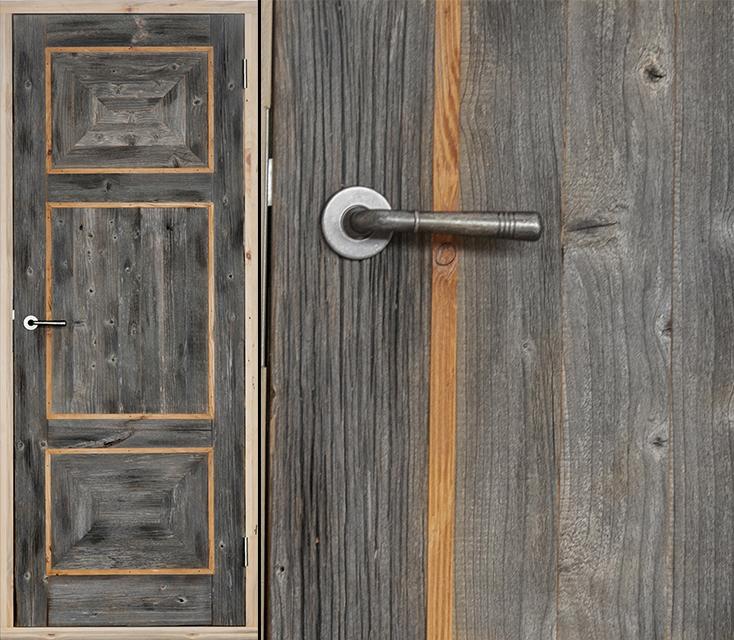 95Как покрасить дверь под старину своими руками